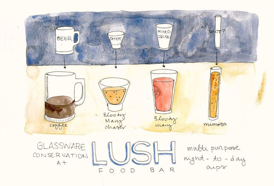 7- Lush Food Bar