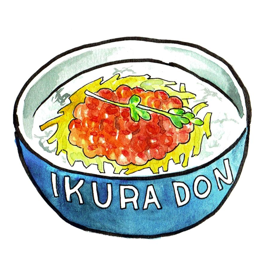 ikura-don