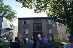 Neighborhood block party to celebrate the Inquilinxs Unidxs Rent strike