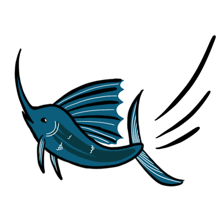 Flying Fish Color_Swordfish