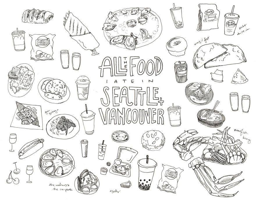 Seattle + Vancouver-B&W